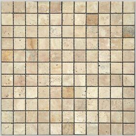 Мозаика 4M90-26T (Travertine) 25,8х25,8х4 состарен.
